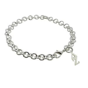 Delta Zeta Rolo Sorority Bracelet with Lobster Clasp - DKGifts.com