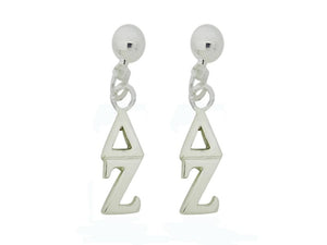 Delta Zeta Post Greek Sorority Earring - DKGifts.com