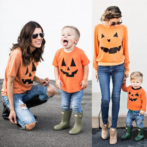 T-shirt Halloween Pumpkin Outfit
