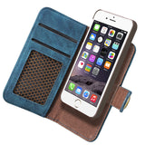 Luxury Leather Wallet / Phone Case for iPhones