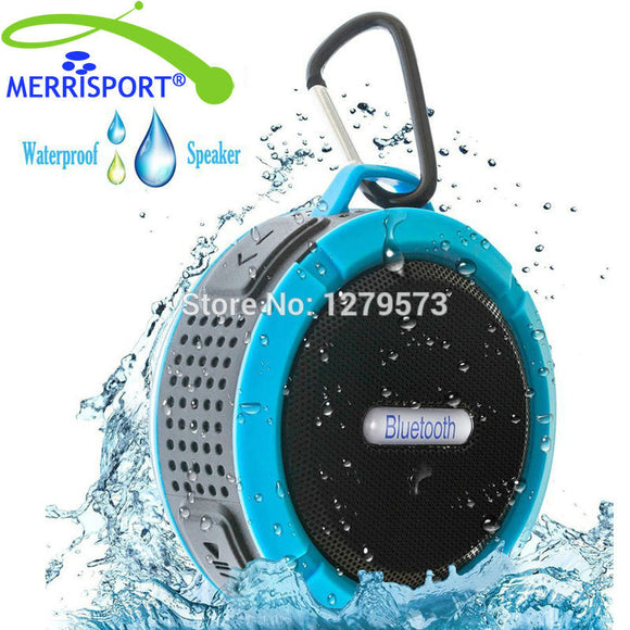 Mini Portable Bluetooth Wireless HIFI  Sport Speakers with Mic Support USB,  TF Card Shower Speakers