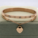 FOREVER LOVE Heart Luxury Bracelet