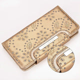 Genuine Leather Multi Functional 2 in 1 Women's Wallet-Phone Case-Bag for iPhones