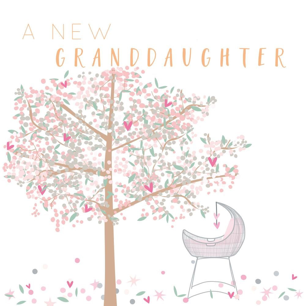 New Granddaughter Card