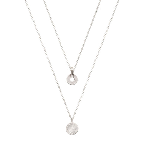 Olivia Necklace - Silver
