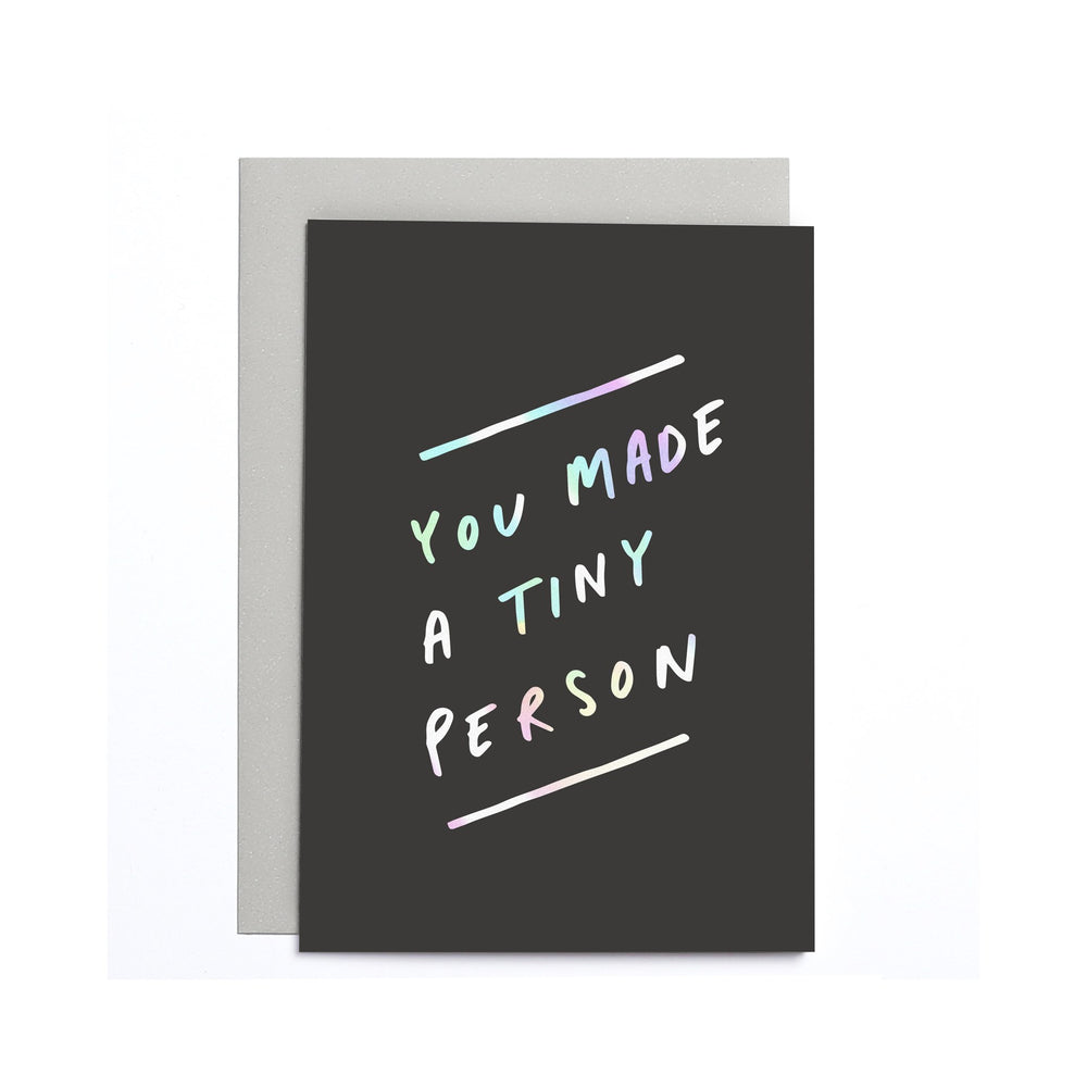 Tiny Person Small Card