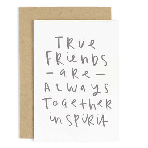 True Friends Card