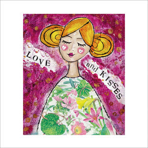 Love and Kisses Card