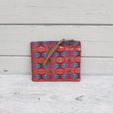 Dhilo Red Handwoven Coin Purse