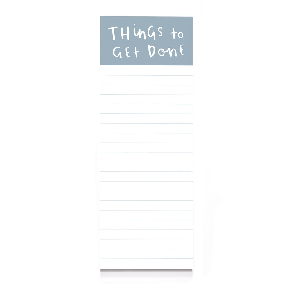 Things to Get Done Pad