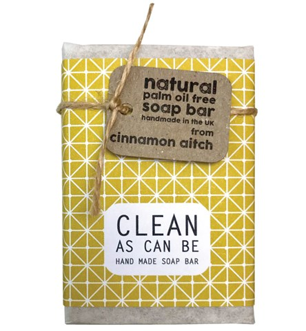 Clean As Can Be Lemongrass & Hemp Soap Bar
