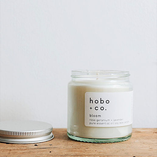 Bloom Essential Oil Soy Candle