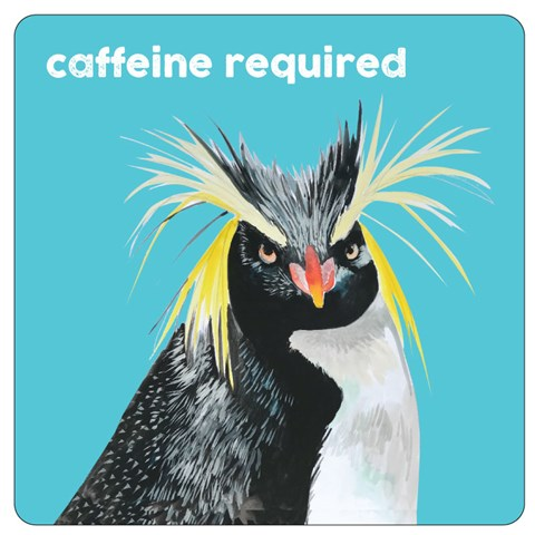 Caffeine Required Coaster