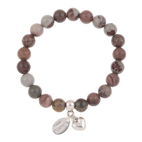 Coffee Bean Jasper Gemstone Bracelet
