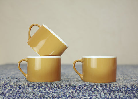 Datia Short Mug - Mustard