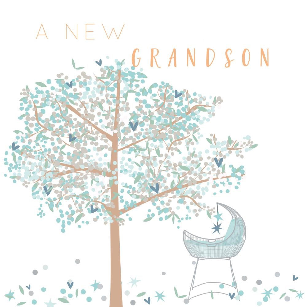 New Grandson Card
