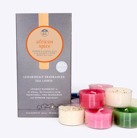 African Spice Scented Tealights