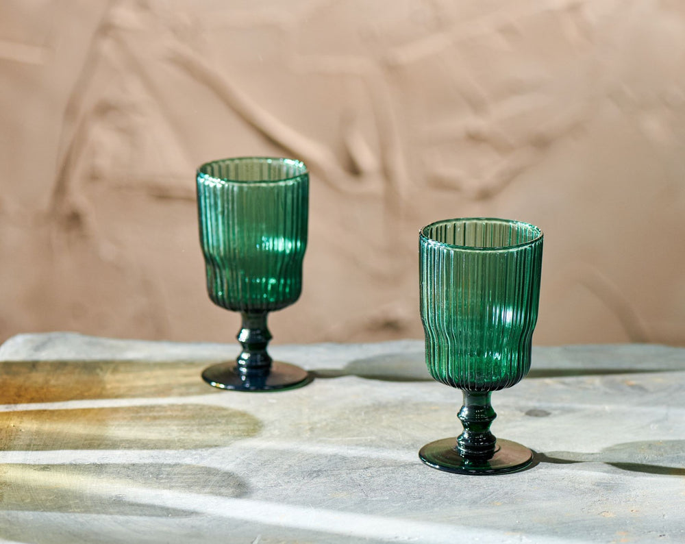 Fali Wine Glass - Teal