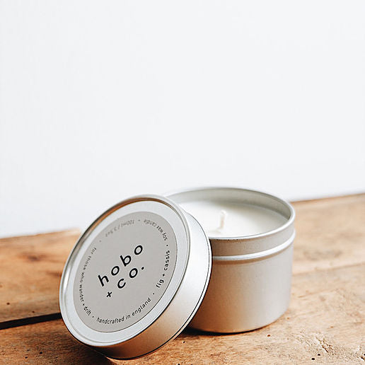 Fig & Cassis Soy Tin Candle