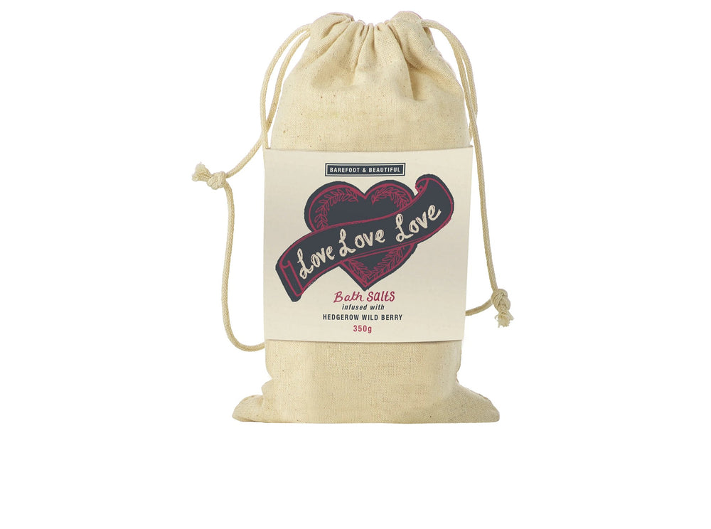 Love Love Love (Citrus Fresh) Bag Of Bath Salts