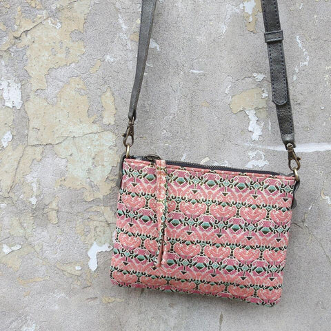Nepali Dhaka Medium Handbag