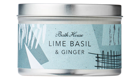 Lime, Basil & Ginger Candle