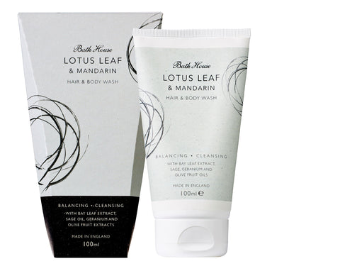 Lotus Leaf & Mandarin Hair & Body Wash