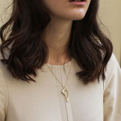 Willow Necklace - Gold