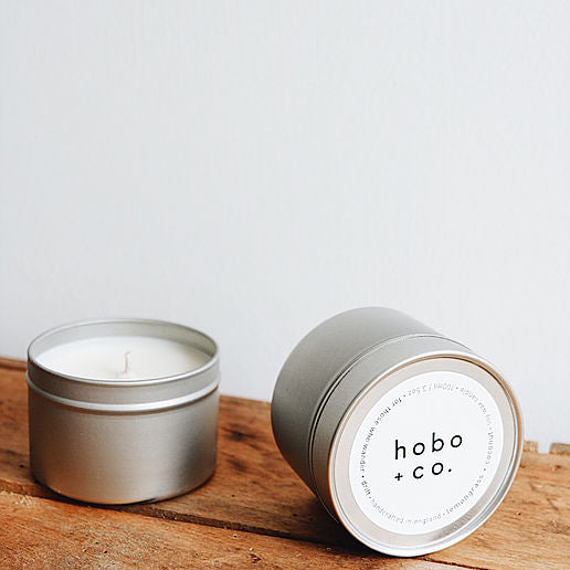 Lemongrass & Coconut Soy Tin Candle