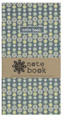 Ditsy All Over Print Little Notebook