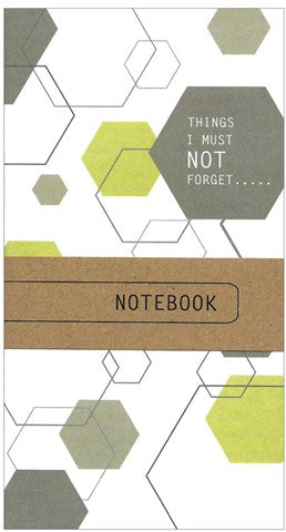 Hexagons Print Little Notebook