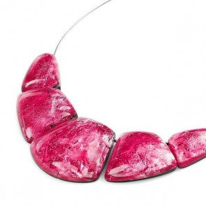 Cleopatra Necklace Raspberry (1433649381473)