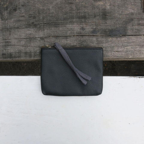 Tilo Small Zip Top Purse - Black