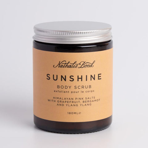 Sunshine Himalayan Pink Salts Body Scrub