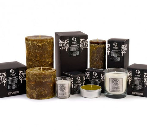 'Dark Wood' Scented Candles
