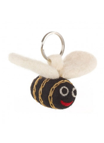 Molly The Golden Bee Keyring