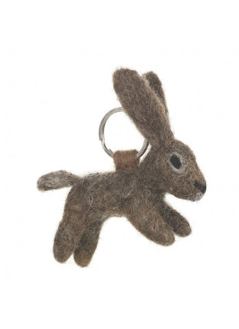 Hazel The Hare Keyring