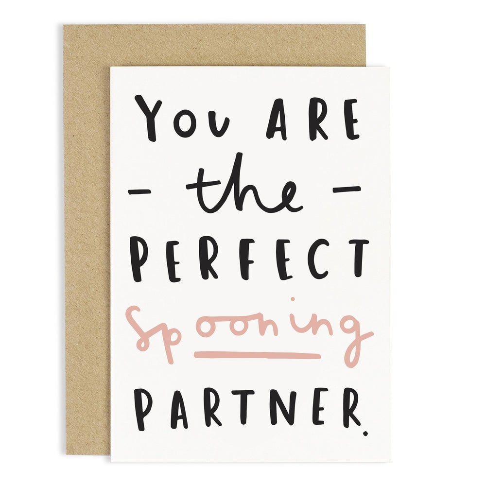 Perfect Spooning Partner Card