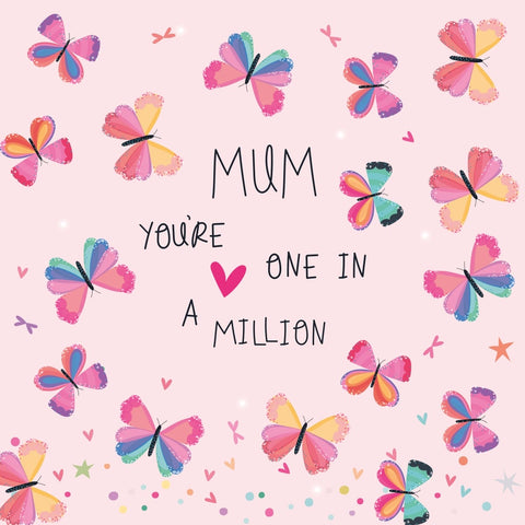 One In A Million Mother's Day Electric Dreams Card