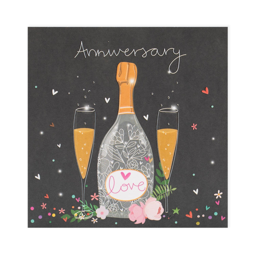 Anniversary Fizz Electric Dreams Card