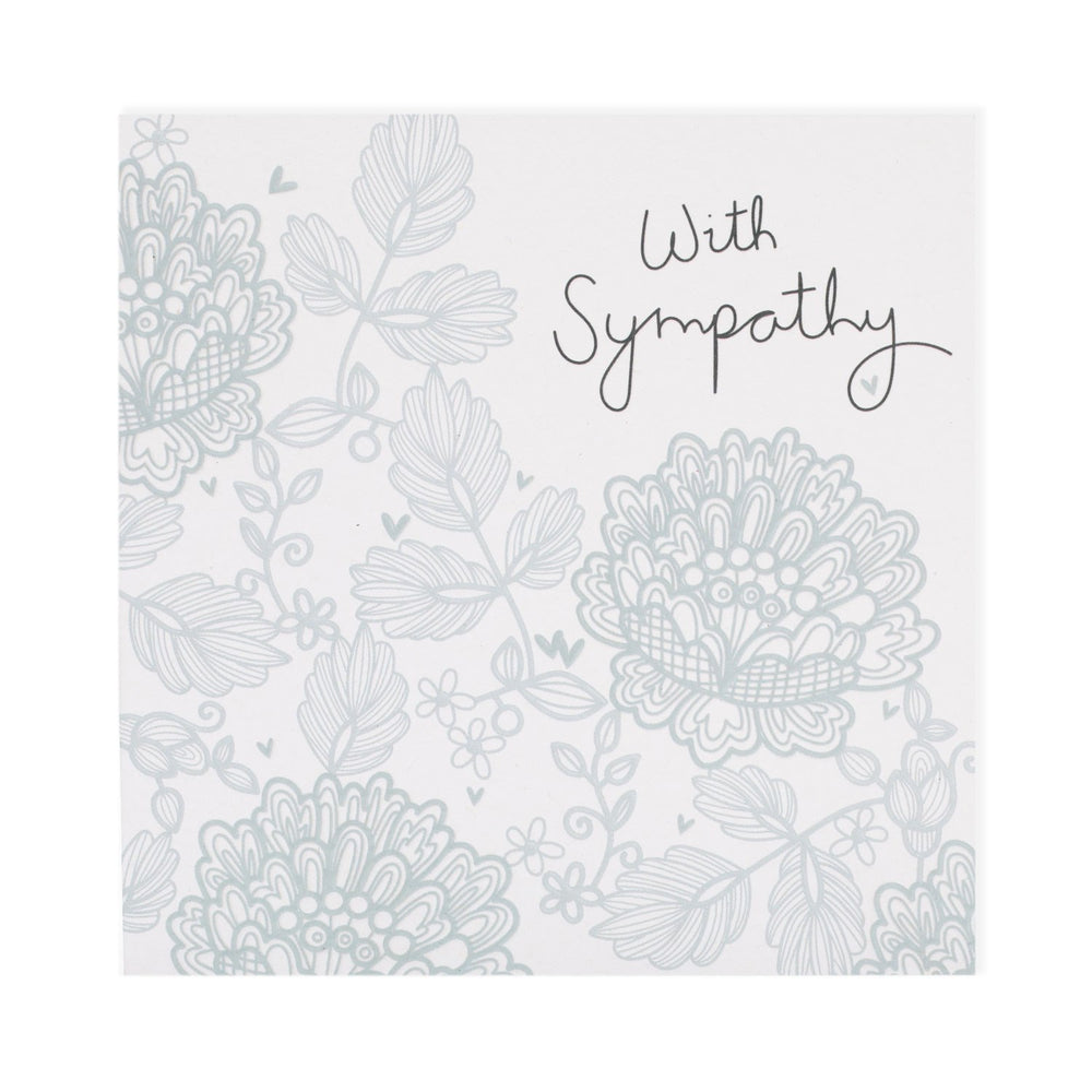 With Sympathy Electric Dreams Card