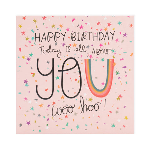 All About You Birthday Electric Dreams Card