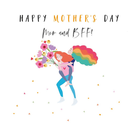 Mum & BFF Mother's Day Happy Days Card