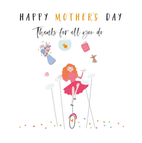 Thanks For All You Do Mother's Day Happy Days Card