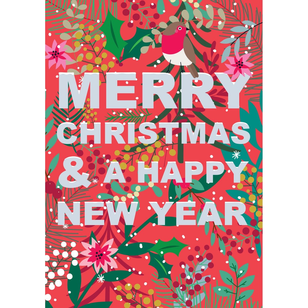 Merry Christmas & A Happy New Year Wild Thing Card