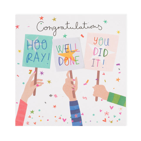Congratulations Electric Dreams Card