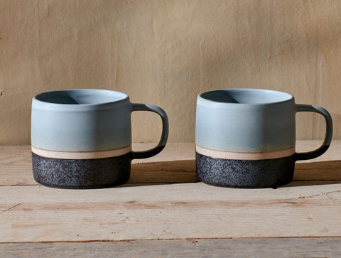 Enesta Dipped Mug - Dusty Blue