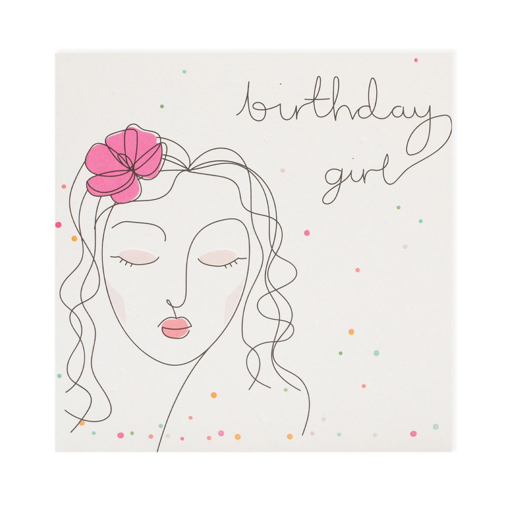 Birthday Girl Mobius Card