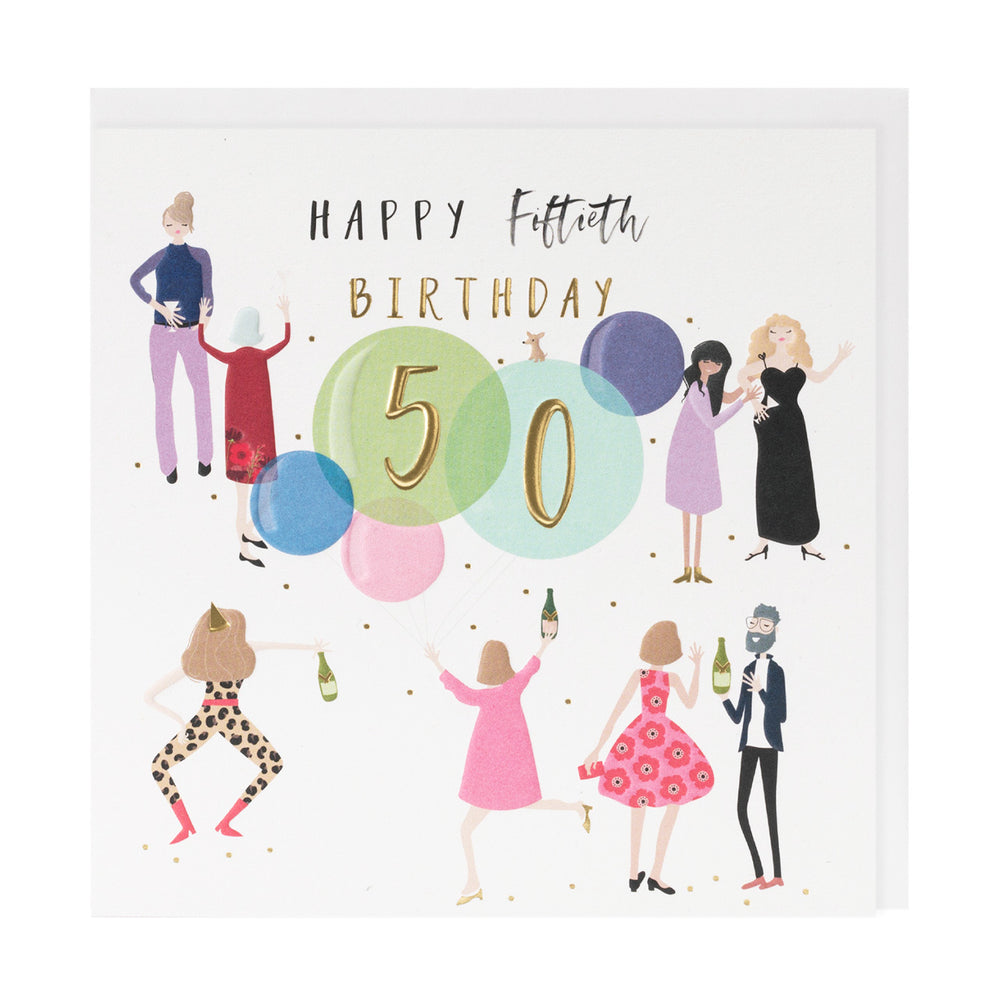 Happy 50th Birthday Happy Days Card