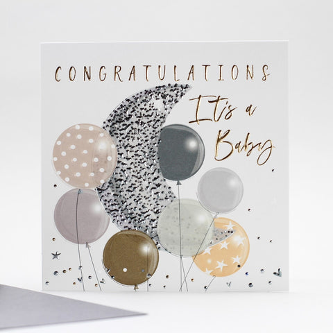 Baby Balloons Card